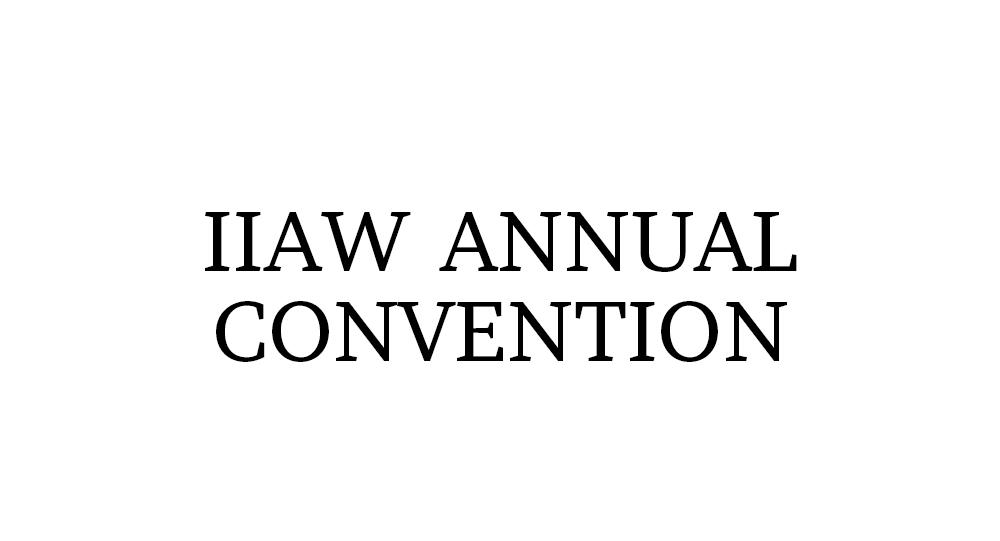 IIAW Annual Convention logo